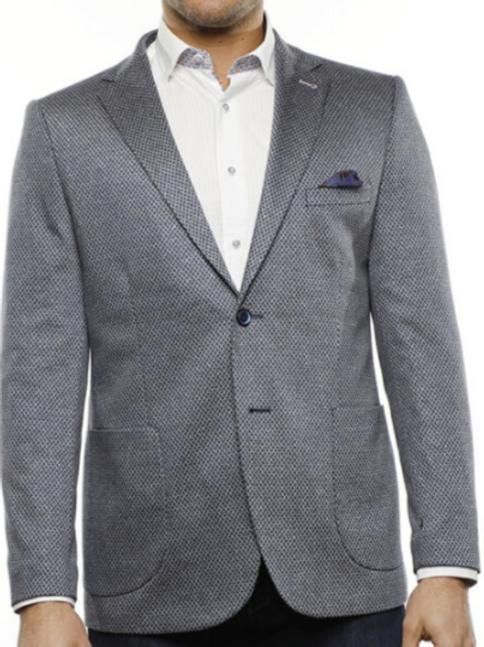 Grey and Navy Sport Coat