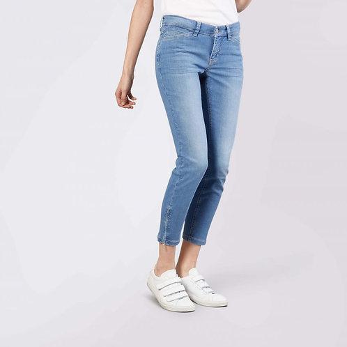 MAC Dream Chic Slim Leg Jean in Light Blue