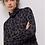 Thumbnail: John + Jenn Leopard Mock Neck Sweater F233TN58