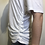 Thumbnail: Majestic Filatures Ruched Side Tee J001-FDE001