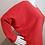 Thumbnail: Lilla P Seamed Dolman Top in Poppy - P1393