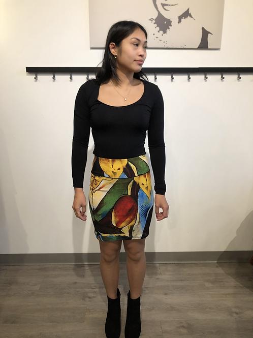Eva Varro Multi Short Pencil Skirt S12405
