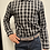 Thumbnail: Haupt Black and White Check Button-Up 7007/2460