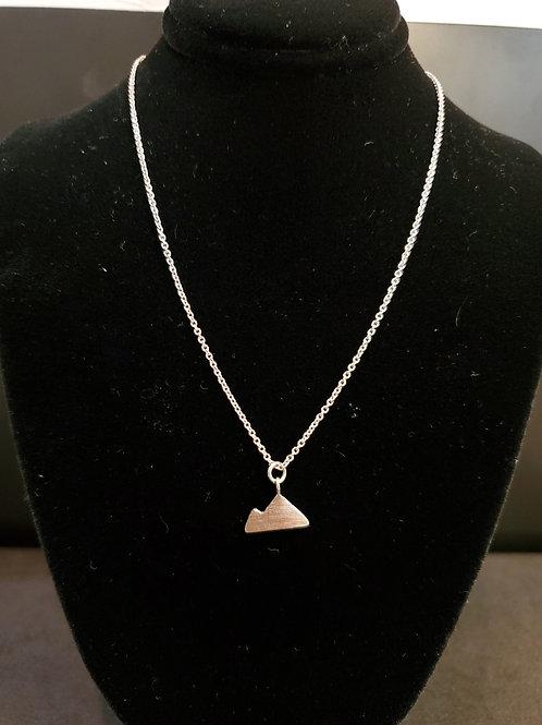 Heidi Hull Designs Silver Mountain Necklace