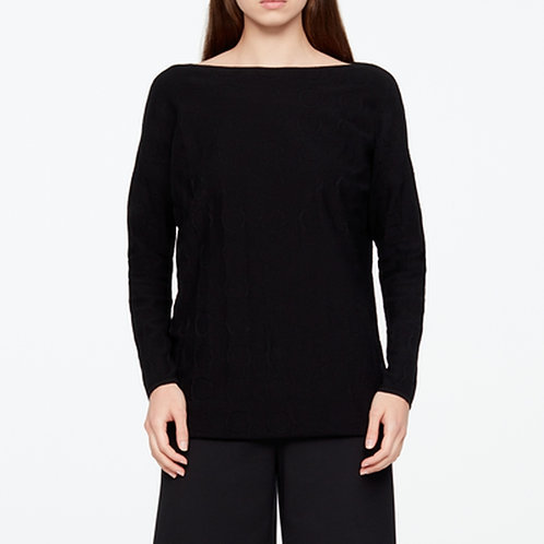 Sarah Pacini Circles Long Sweater 11070