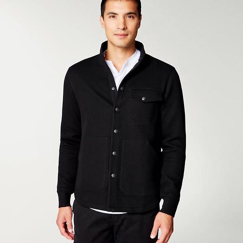Goodman Fuji Shirt Jacket in Twill Quilt Jacquard G429-1