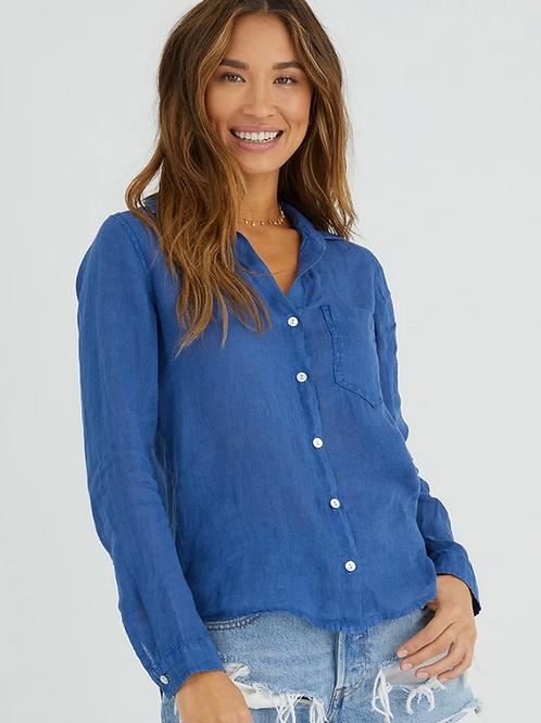 Bella Dahl Pocket Button Down in Mayan Blue - B2808-653