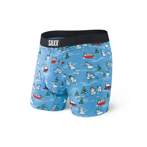 Saxx Vibe Boxer Brief in Blue Pucking Awesome SXBM35-PBA