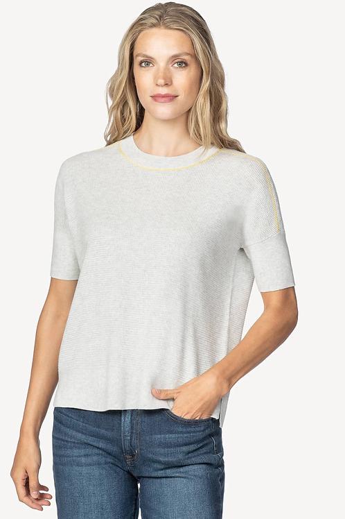 Lilla P Easy Sweatshirt Sweater in Silver - PA1382