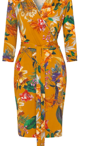 Ilse Jacobsen Brown Wrap Dress