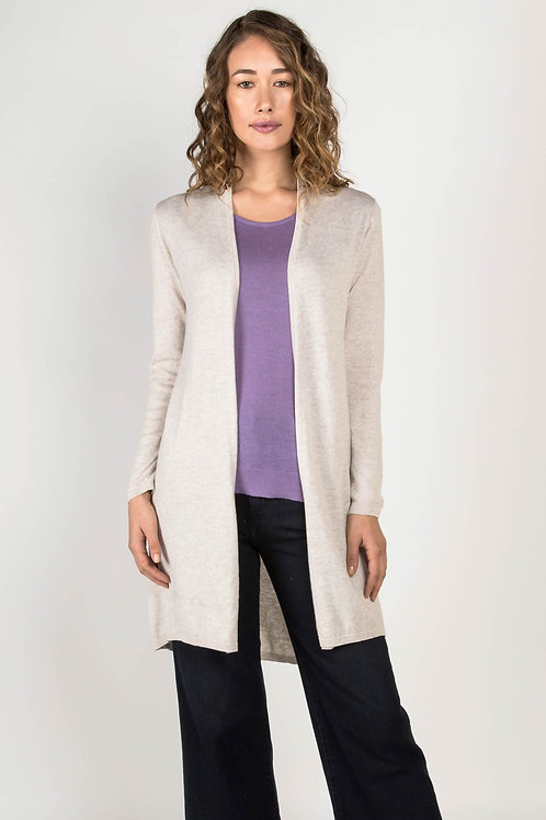 Indigenous Essential Knit Cardigan in Oatmeal