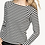 Thumbnail: Lilla P Striped Raglan Boatneck PA1318