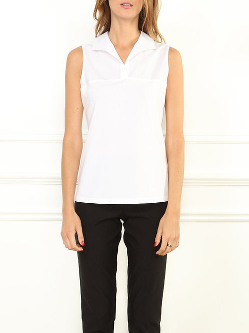 Hinson Wu Emma Foundation Layer Tank in White