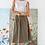 Thumbnail: Lilla P Side Button Skirt in Kelp - PA1454