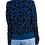 Thumbnail: Kinross Cashmere Reversible Leopard Pullover KL19-53F