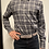 Thumbnail: Haupt Grey and Black Check Flannel 30902
