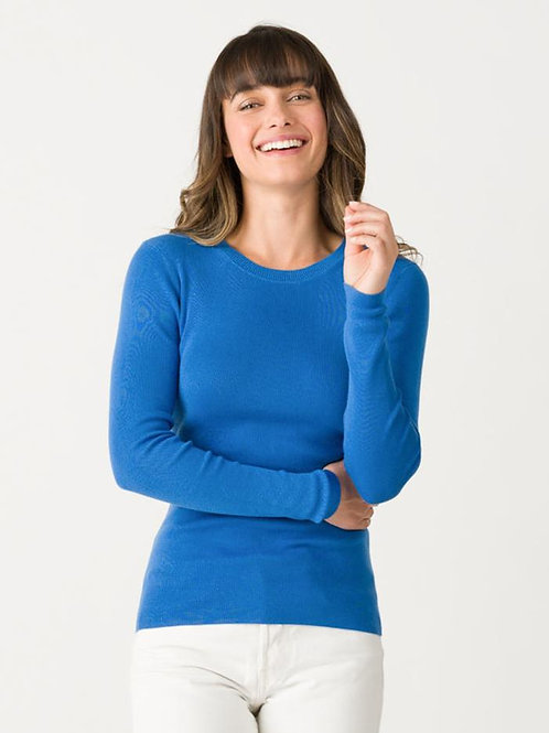 Margaret O'Leary Jane Ribbed Crew COH2040