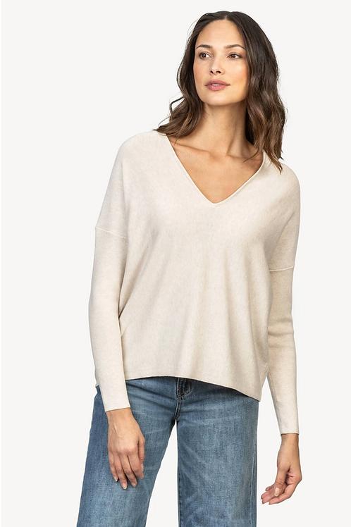Lilla P PA1226 Double V-Neck Sweater