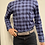 Thumbnail: Haupt Grey and Navy Check Flannel 30903