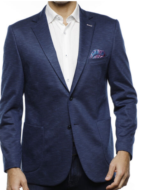 Navy and Blue Sport Coat