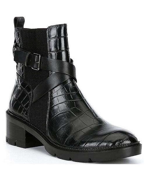 Donald Pliner Savvy Croc Boot