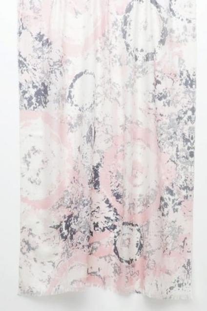 Kinross LFAS0-027 Tie Dye Print Scarf