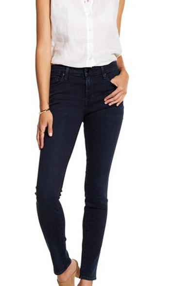 Fidelity Charlie Mid Rise Skinny in Chevy Blue