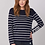Thumbnail: REPEAT Sweater with Stripes
