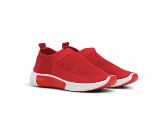 Ilse Jacobsen Dahlia Sneaker in Red