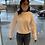 Thumbnail: Bella Dahl Crew Neck Pullover in White B4724-C25