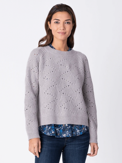 Margaret O'Leary Nico Pullover in Marble CAV3011