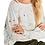 Thumbnail: Lisa Todd High Tide Neck Cutout Splatter Sweater S21-CL87