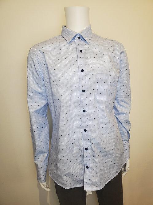 Haupt Ecologic Blue Tuna Button Shirt 8007
