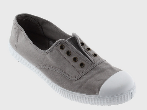 Victoria Inglesa Shoe in Gris 106623