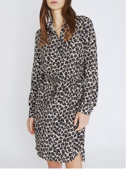 0039 Italy Sporty Cheetah Dress 212038