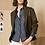 Thumbnail: Ecru Everyday Jacket in Olive 2526IJ