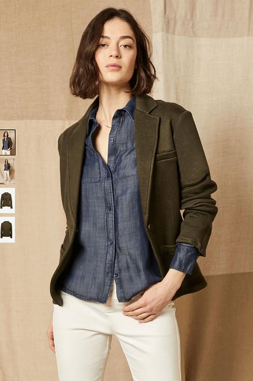 Ecru Everyday Jacket in Olive 2526IJ