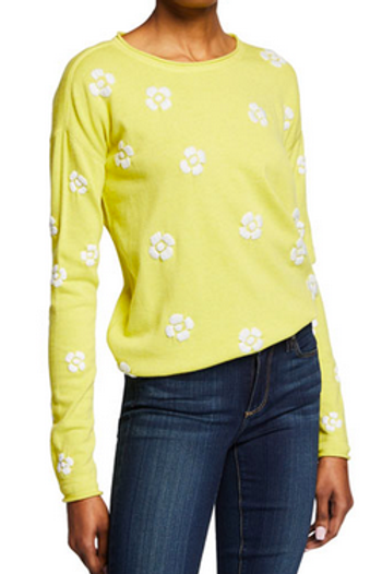 Lisa Todd Daisy Crazy Sweater in Sunny S19-C38