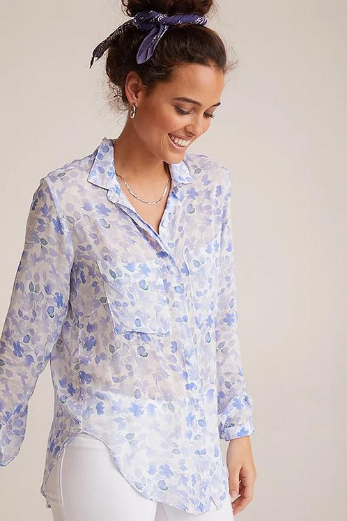 Hipster Shirt in Malibu Blue Print