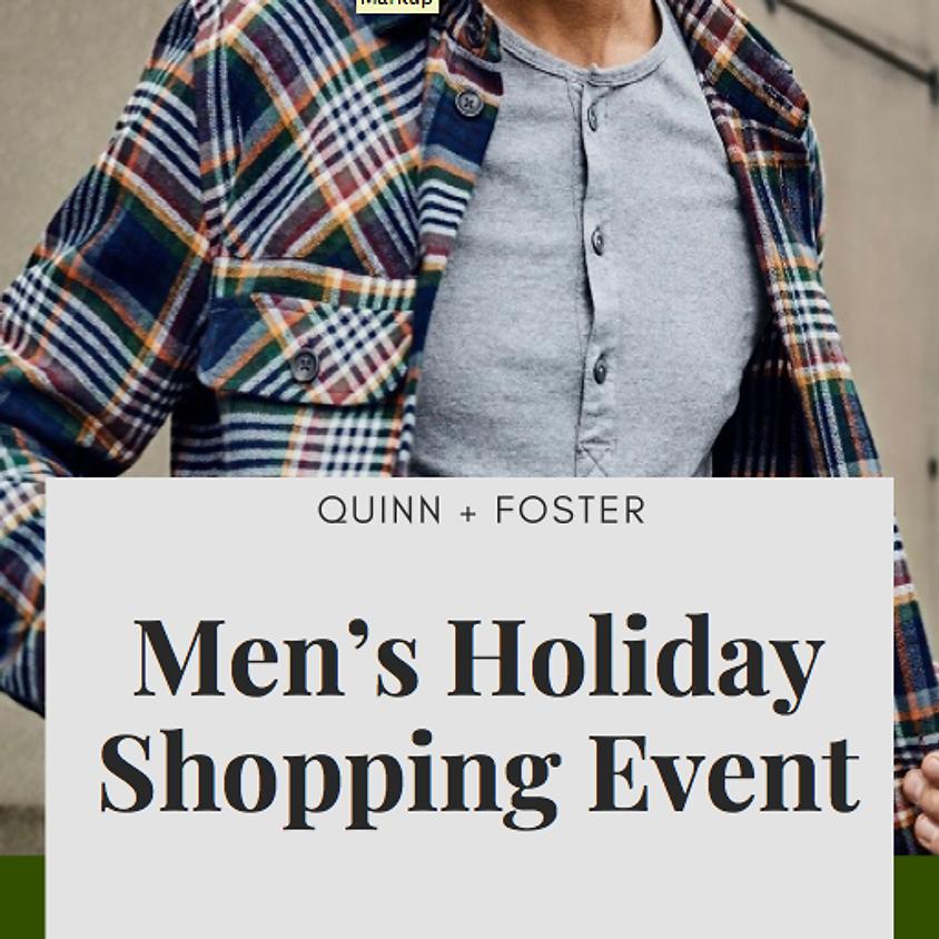 Men's Holiday Shopping