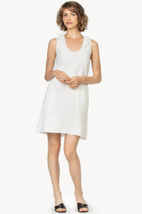 Lilla P Ruffle Neck Dress