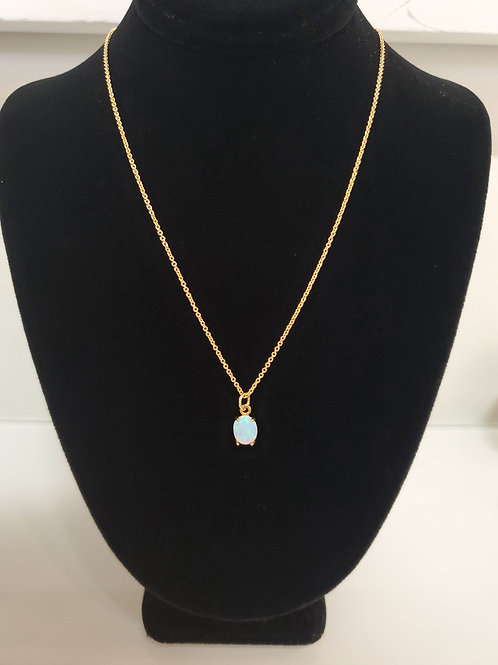 Heidi Hull Designs Gold Opal Style Pendant