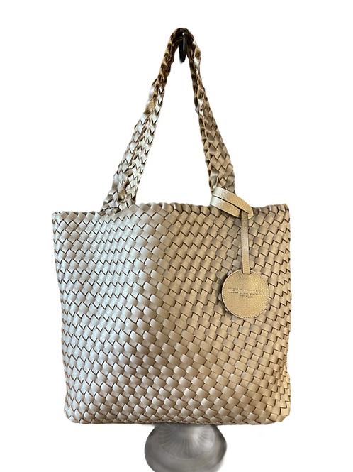 Ilse Jacobsen Tote Bag in Platin Silver 08-780710