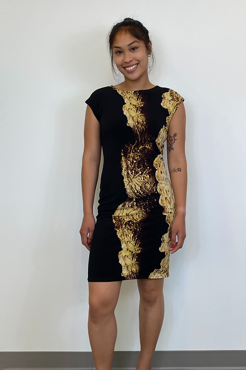 Reversible Black and Gold Dress
