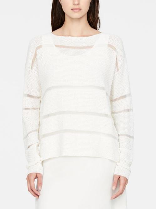 Sarah Pacini Star Stitch Linen Sweater - 11090