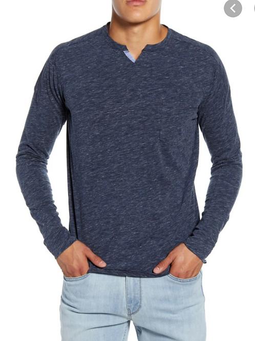 Goodman Victory V-Notch Sweatshirt in Magnet G468-3