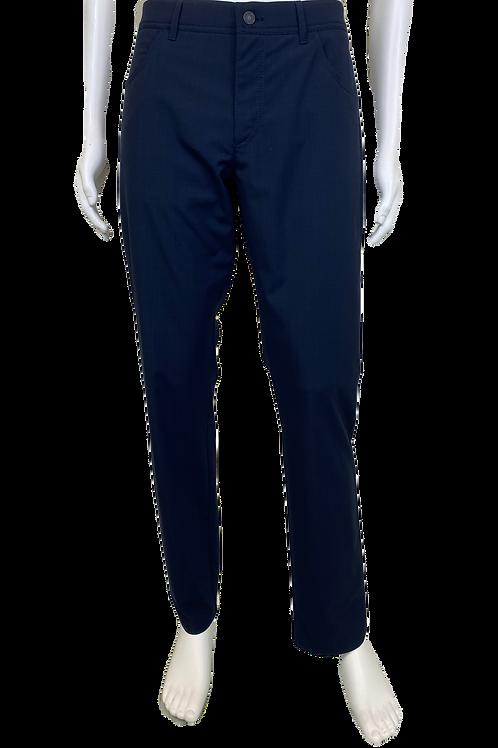 Alberto Navy Blue Dress Pants