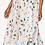 Thumbnail: Lilla P Side Button Skirt in Matisse Print - PA1454