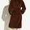 Thumbnail: Vince Belted Faux Fur Long Coat V604991192