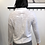 Thumbnail: Lilla P Mock Neck Long Sleeve in White PA1314